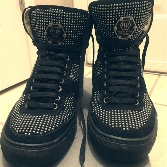23543b4cbb1 Philipp Plein Shoes | High Top Sneaker | Poshmark